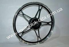 Колесо заднее титановое (черное) - вес 3кг Activ/Delta/Alpha