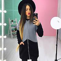 Женское пальто (42,44,46) —кашемир +150 синтепон купить оптом и в Розницу в одессе  7км