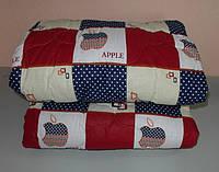 Одеяло  полуторное наполнитель овчина а ткань бязь квадрат