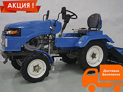 Мототрактор 15л.с. SH120 ZUBR TA-TA (с электростартером. фреза тракторная )