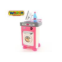 Игрушечная стиральная машина с аксессуарами Wader 47939