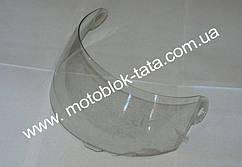 Стекло для шлема А105 прозрачное (с бородой)