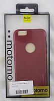 Чехол для iPhone 6, 6S MOTOMO (красный) KPI33616