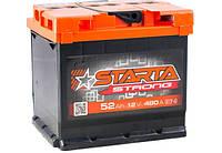 Аккумулятор 52 Аh, 12V АЗ Euro STARTA Strong