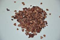 Грунт для аквариума крошка розовая кварцит 5-10 мм  1кг
