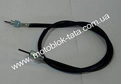 Трос спидометра  L-980mm (верх квадрат/внутренняя резьба,низ квадрат/внутренняя резьба) Yamaha