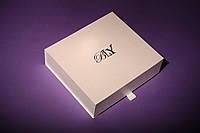Оригинальный подарок - набор мужских носков в картонной коробке на 30 пар. Цвет - шампань