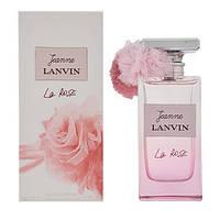Женская парфюмированная вода Jeanne Lanvin La Rose (чувственный аромат с искрящимися нотами сочного мандарина)