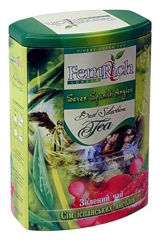 """Зеленый чай """"Семь испанских ангелов"""", FemRich, 200г, фото 2"""