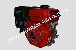 Двигатель 168F c коленвалом под конус-V