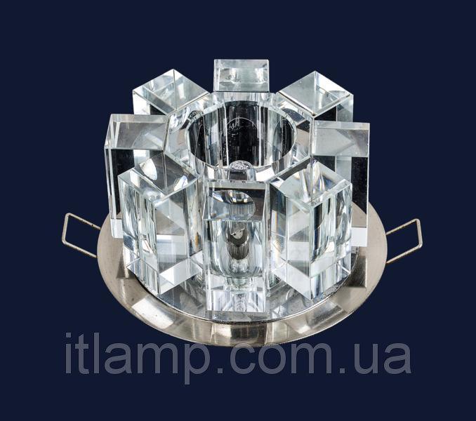 Светильник врезной с плафоном Art712lstA3160хром