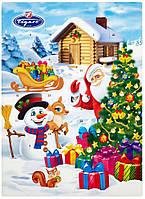 Адвентический календарь новогодний с шоколадом (картинки в ассортименте) 50г Figaro (Словакия)
