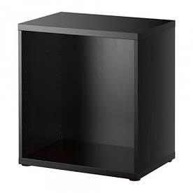 IKEA, BESTA, Корпус, черный коричневый (20245964)(202.459.64) БЕСТА, ИКЕА, ІКЕА, АЙКИА