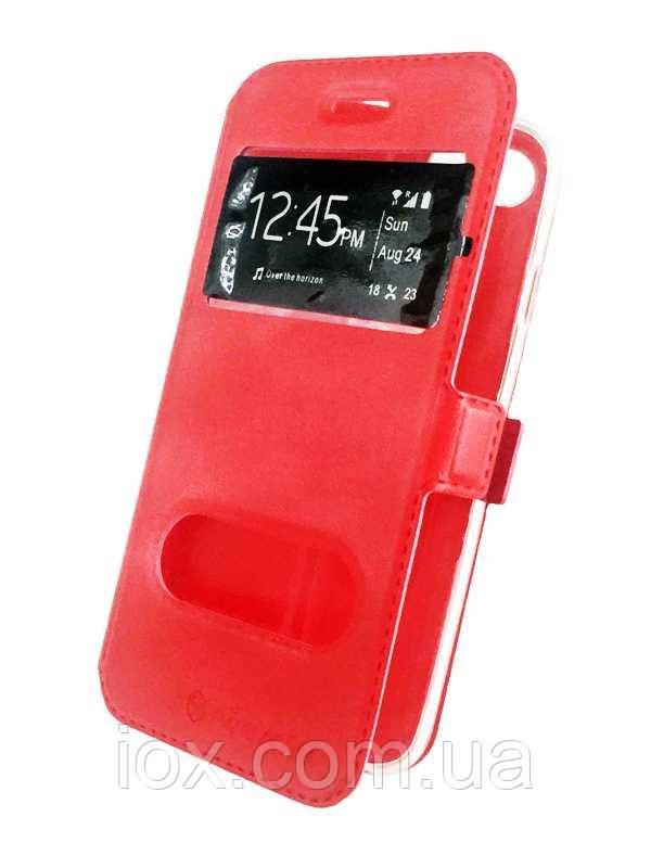 Красная чехол-книжка Nillkin на магните для iPhone 6/6s