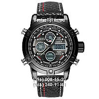 Годинник військові AMST 3022 (Кварц) Black/Black, фото 1