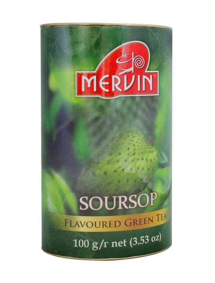Зеленый чай с саусепом, Mervin, 100г