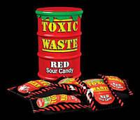 Очень кислые конфеты. Токсик Вейст Красные. Toxic Waste RED.