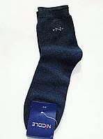"""Мужские носки """"NICOLE""""  махровые с резинкой, р.29-31"""