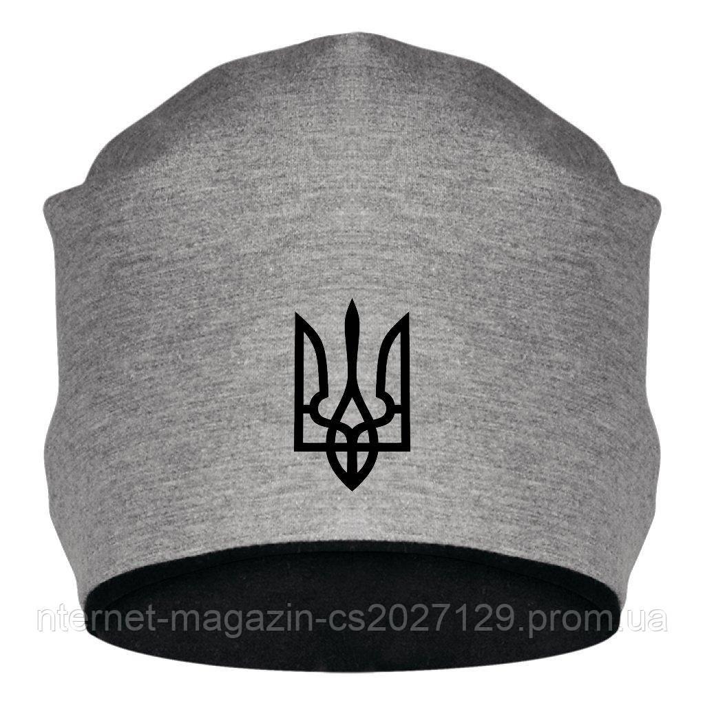 Шапка с Гербом Украины