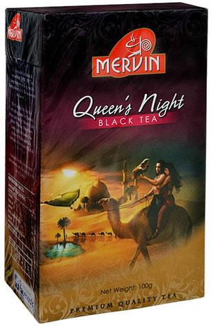 """Микс чёрного и зелёного чая """"Королева Ночи"""", Mervin, 100г, фото 2"""