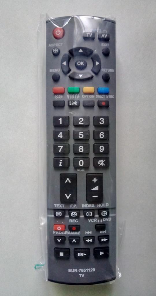 Пульт ДУ  'Panasonic EUR7651120, N2QAYB000223  (LCD TV)