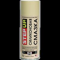 Силиконовая смазка, водоотталкивающая термостойкая, универсальная защита металла, резины и пластика StepUp 284