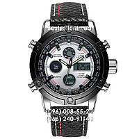 Часы военные AMST 3022 (Кварц) Black/White. , фото 1