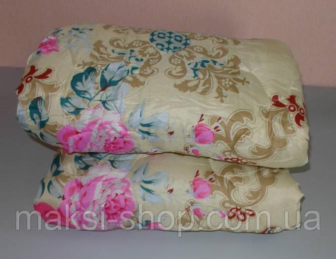 Одеяло полуторное двойной силикон  ткань полиэстер