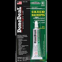 Водостойкий универсальный клей DoneDeal «Склею насмерть» (цвет: прозрачный) 30 мл