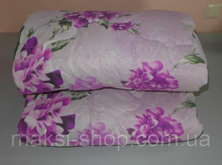 Одеяло полуторное двойной силикон  ткань полиэстер (0ввв)