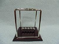 Сувенир маятник Ньютона на 5 шариков размер 9*8*9