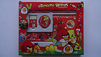 "Набор канцелярский подарочный ""Angry Birds"",5пр.Подарочный канцелярский набор детский ""Angry Birds"" .Подарунко"