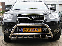 Кенгурятник на Hyundai Santa Fe (2006-2013) Хюндай Санта Фе PRS