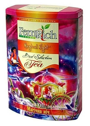 """Микс черного и зеленого чая """"Магическая ночь"""", FemRich, 200г, фото 2"""