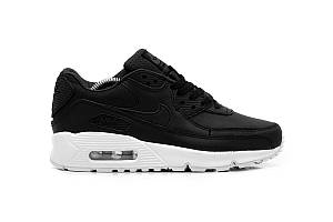 Кроссовки Nike Air Max 90 Black White Leather