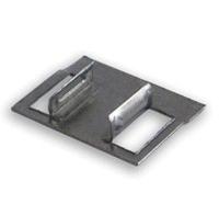 Скоба для крепления стеновых панелей ПВХ на пластиковую рейку