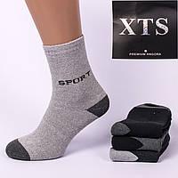 Мужские носки махровые XTS Sport M01-09. В упаковке 12 пар