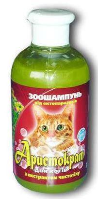 Шампунь  Аристократ п/б 350мл д/кошек с чистотелом