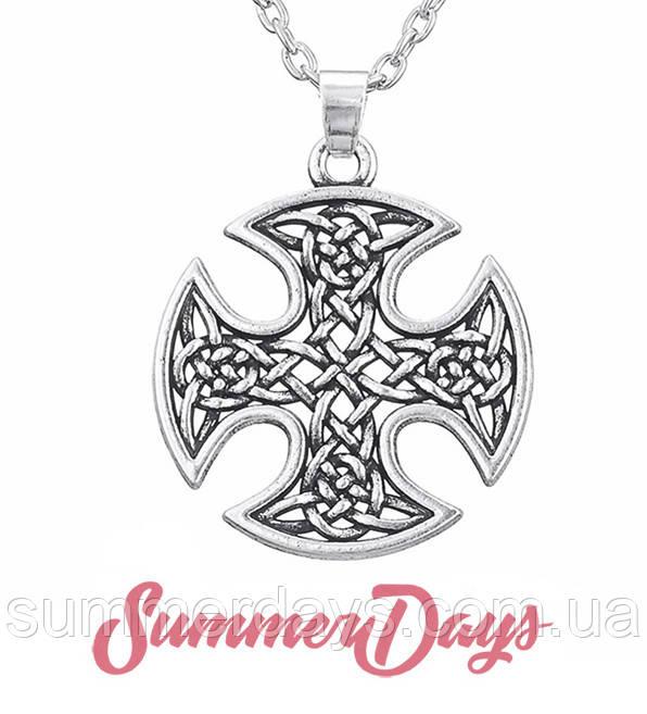 Кулон скандинавский крест