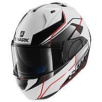 Мотошлем SHARK Evo-One Krono белый красный черный XL
