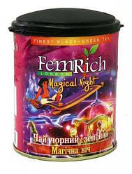 """Микс черного и зеленого чая """"Магическая ночь"""", FemRich, 75г"""