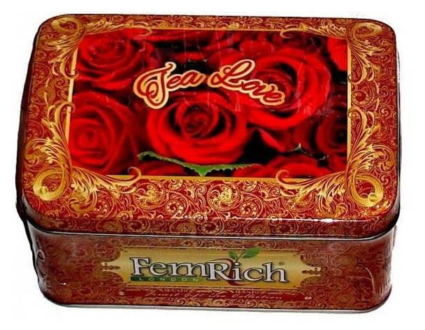"Цейлонский крупнолистовой чай ""Чай Любви "", FemRich, 160г, фото 2"