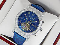 Наручные часы Patek Philippe Grand Complications Power Tourbillon серебро, синий циферблат