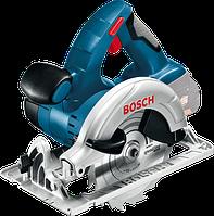 Аккумуляторная циркулярная пила Bosch GKS 18 V-LI Professional (4 А/ч, 3900 об/мин)