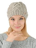 Вязаная женская шапка  H31G