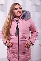Зимова жіноча куртка з чорнобуркою.Р-ри 42-56