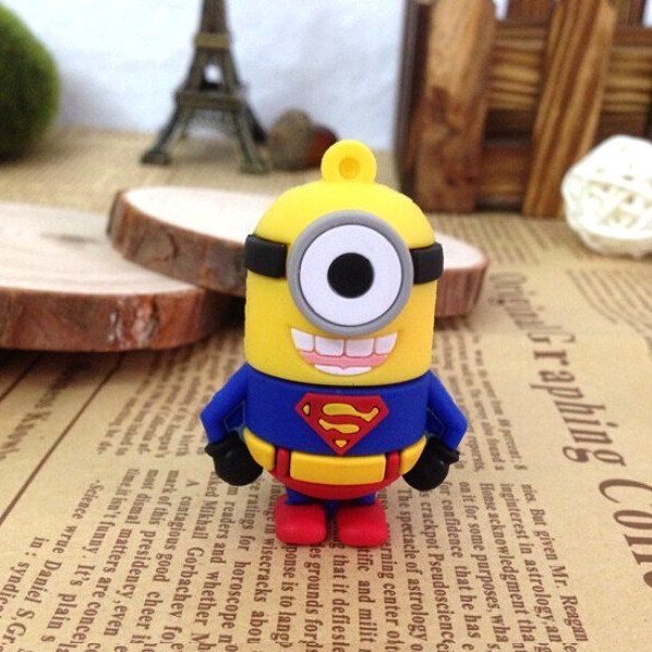 Флешка 16 Гб Minion Superman