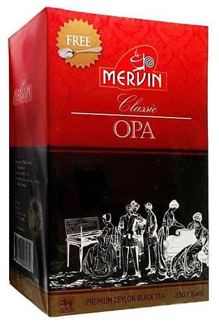 """Чёрный крупнолистовой чай """"OPA Classic"""", Mervin, 250г, фото 2"""