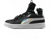Женские кроссовки Puma Classic High Black