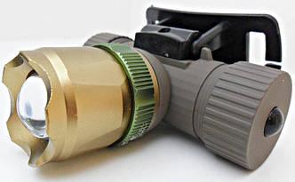 Фонарик налобный аккумуляторный Police BL-6855